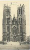 Brussel Bruxelles Brussels - Eglise Sainte-Gudule - Nels Série 1 N° 9 - Monuments, édifices