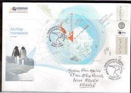 BC - ARGENTINE BF93 De 2007 ANNEE POLAIRE INTERNATIONALE 1er Jour 27 AGOSTO 2007. - Lettres & Documents
