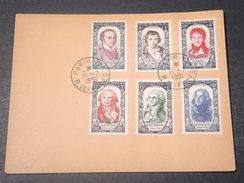 FRANCE - Enveloppe De Paris Avec La Série Complète De Hoche En 1951 - L 11086 - Poststempel (Briefe)