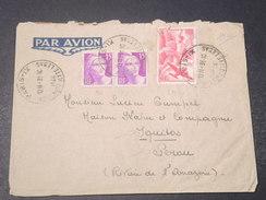 FRANCE - Enveloppe De Paris Pour Le Pérou En 1946 Par Avion - L 11090 - 1921-1960: Periodo Moderno
