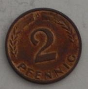 GERMANIA – 2 PENNING – 1965 – (101) - [ 7] 1949-… : FRG - Fed. Rep. Germany