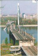 Most Slobode ( Bridge ). - Against War And Destruction. Vojvodina. Novi Sad.Serbia - Ponts