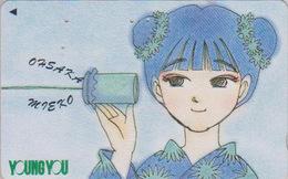 Télécarte Japon / 110-011 - MANGA - YOUNG YOU By MIEKO OHSAKA - ANIME Japan Phonecard - BD COMICS TK - 9873 - BD