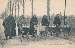 L'AUVERGNE PITTORESQUE - N° 295 - LAITIERES SE RENDANT A LA VILLE - Auvergne