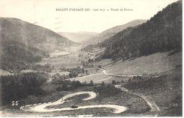 (88) Vosges - CPA - Ballo D'Alsace - Route De Sewen - France