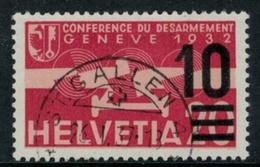 Suisse /Schweiz/Svizzera/Switzerland // Poste Aérienne //  1935/38 No.21 - Oblitérés