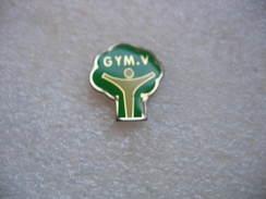 Pin's Association Gym'V Jardin Anglais Propose La Pratique D'activités Physiques: Fitness, Bien être, Fitness Cardio,ect - Gymnastics