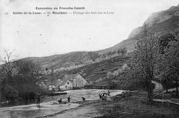 CPA De MOUTHIER (Doubs) - Flottage Des Bois Sur La Loue. Edition Teulet. Numéro 25. Non Circulée. Bon état. - Altri Comuni