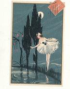 ILLUSTRATION --  CARLO CHIOSTRI, Danseuse Au Clair De Lune - Chiostri, Carlo