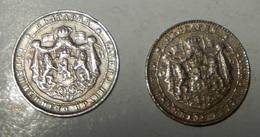 BULGARIA – 2 Monete - Bulgarian Kingdom - BORIS III - 2 LEBA -1925 – (174) - Bulgaria