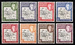 FALKLAND - DEPENDENCIES 1946 - Full Set MNH** - Falkland