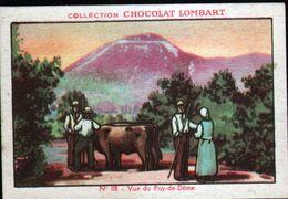 CHOCOLAT LOMBART, N°118,VUE DU PUY DE DOME - Lombart