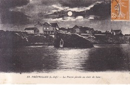 Prefailles La Pierre Percee Au Clair De Lune  1928 - Préfailles