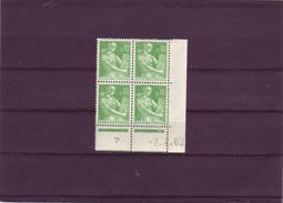 N° 1231 - 0,10F PAYSANNE - L De K+L - 2° Tirage/2° Partie Du 5.1.62 Au 6.2.62 - 02.02.1962 - - Coins Datés