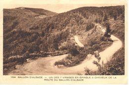 (88) Vosges - CPA - Ballo D'Alsace - Route Du Ballon D'Alsace - France