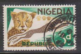 NIGERIA Scott # 188 Used - Leopards - Nigeria (1961-...)