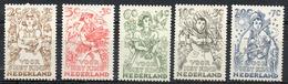 PAYS-BAS - (Royaume) - 1949 - N° 530 à 534 - (Emis Au Profit Des Oeuvres Pour L'enfance) - Nuovi