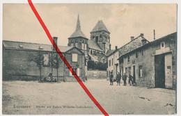 PostCard - Lavannes - Kirche Mit Kaiser Wilhelm Gedenkstein - 1917 . Stempel IR 66 - Reims