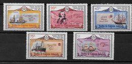 Serie De Turks Y Caicos Nº Yvert 440/44 Nuevo - Turks & Caicos (I. Turques Et Caïques)