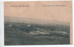 SALONIQUE - VUE PANORAMIQUE DE LA VILL - Grecia
