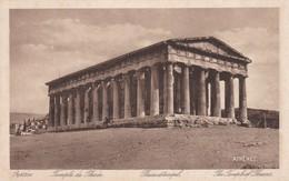 CARTOLINA - POSTCARD - GRECIA - ATENE - TEMPLE DE THESE'E THESEUSTEMPEL - Grecia