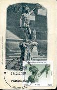 29253 Italia, Maximum 2017, Sculpture Of Benvenuto Cellini, Perseo,Perseus With The Head Of Medusa,firenze,vintage Card - Scultura