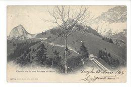 18965 - Chemin De Fer Des Rochers De Naye 1905 - VD Vaud