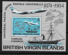 Hoja Bloque De Islas Vírgenes Nº Yvert HB-21 Nuevo - British Virgin Islands