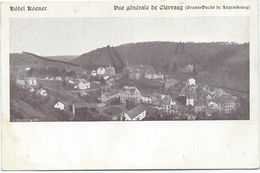 Clervaux (Klierf) - Hôtel Koener - Vue Générale De Clervaux (ca. 1900) - Clervaux