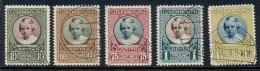 Luxembourg - 1928 - Caritas Princesse Marie-Adelaide Set - Cancelled - 1921-27 Charlotte Voorzijde