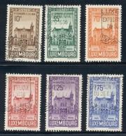 Luxembourg - 1936 - FIP Congress Set - Cancelled - 1926-39 Charlotte Rechtsprofil