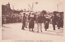 56 LA TRINITE-sur-MER        Danse Bretonne Un Jour De Fête    PAS COURANT - La Trinite Sur Mer