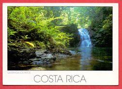 (209) Costa Rica Written Postcard 2 Scans - Costa Rica