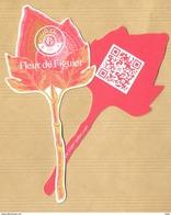 Carte Parfumée Fleur Flower Perfume Card FLEUR DE FIGUIER * ROGER & GALLET * R/V - Modernes (à Partir De 1961)
