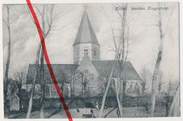 PostCard - Kirche Wercken Kruysstraat Kruisstraat - 1917 - Kortemark