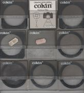 LOT 9 FILTRES COKIN EFFETS SPECIAUX DREAMS STARS DIFFUSER DIFFRACTOR POLARIZING - A 093 / A 092 / A 091 / B 55 / B 56 / - Supplies And Equipment