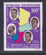 CENTRAFRICAINE AERIENS N°   27 ** MNH Neuf Sans Charnière, TB  (D3888) Conférence Des Chefs D'état D'afrique - Centrafricaine (République)