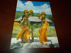 B653  Tahiti Folklore Viaggiata - Cartoline