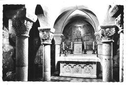 ROYAT - 1844 - Eglise St-Léger - La Crypte - (C.A.P., Paris) - Royat