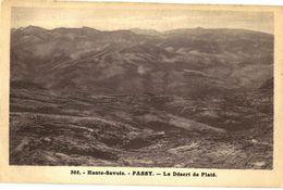 CPA N°16958 - ASSY- PASSY - COTEAUX ET AIGUILLES DE WARENS + LE DESERT DE PLATE - Passy