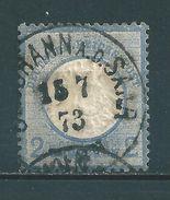 Saar K1 Stempel  St. Johann A.d. Saar  (sab25) - 1920-35 Saargebiet – Abstimmungsgebiet