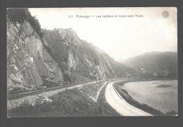 Fidevoye - Les Rochers Et Route Vers Yvoir - 1911 - Ed. Hermans, Anvers - Yvoir