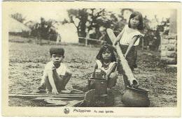 Philippines. Au Pays Igorote. Enfants. - Philippines