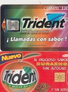Chewing Gum TRIDENT 1997.98 - Mexique