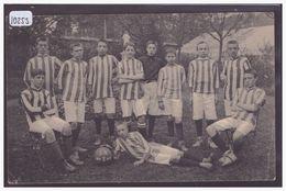 BELGIQUE - ALSEMBERG - PENSIONNAT ST VICTOR - EQUIPE DE FOOTBALL - B ( PLI D'ANGLE ) - Belgique