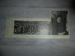 Origineel Knipsel ( 1012 ) Uit Tijdschrift :  Honderdjarige  100 - Jarige  Eeuwelinge  Yper  Ypres  Ieper  1912 - Unclassified