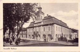 ALTE   Foto- AK   PASEWALK / Meckl.-Vp.  - Rathaus -  Gelaufen 1943 - Pasewalk