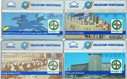 PHONECARDS-PORTUGAL ---  TELECOM PORTUGAL- OPTICAL-  SET 4 CARDS--  (30U+40U+50U+120U ) PRESIDENCIA C.E.E. - Portugal