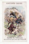 Chromo  CHICOREE CASIEZ BOURGEOIS   Guerre Du Transvaal   Mort Du Général Viljoen - Autres