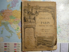 Diorama Paris à Travers Les Ages  Carré Marigny Champs Elysées - Livres, BD, Revues